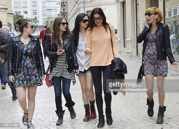 Moda Carpet Closing Goya Toledo Wearing Elie Saab Couture