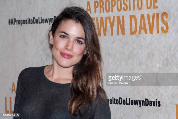 Adriana Ugarte attends 'A Proposito De Llewyn Davis' Madrid premiere photocall at Matadero Madrid cineteca on December 9 2013 in Madrid Spain