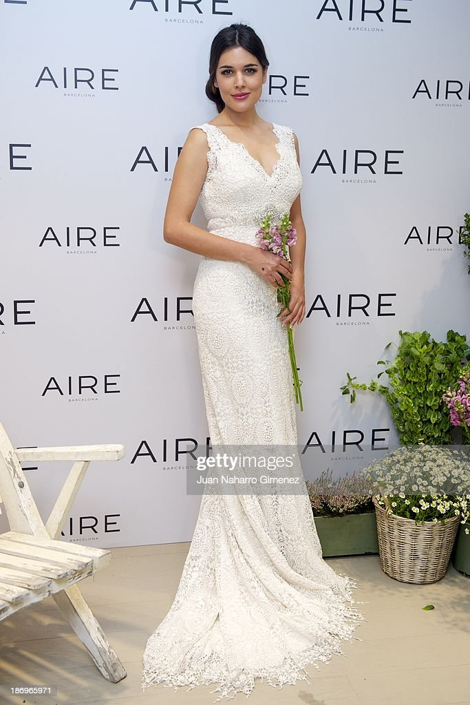 <a gi-track='captionPersonalityLinkClicked' href=/galleries/search?phrase=Adriana+Ugarte&family=editorial&specificpeople=6546874 ng-click='$event.stopPropagation()'>Adriana Ugarte</a> attends Aire Barcelona new collection presentation at Aire Barcelona Store on November 5, 2013 in Madrid, Spain.