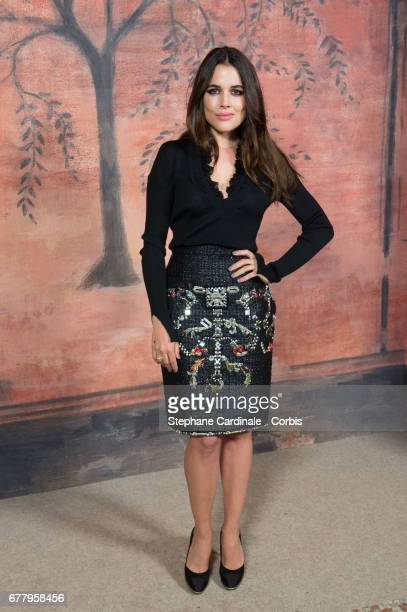 Adriana Ugarte attends the Chanel Cruise 2017/2018 Collection Photocall at Grand Palais on May 3 2017 in Paris France