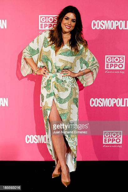 Adriana Ugarte attends the Cosmopolitan Fun Fearless Female Awards 2013 at the Ritz Hotel on October 22 2013 in Madrid Spain