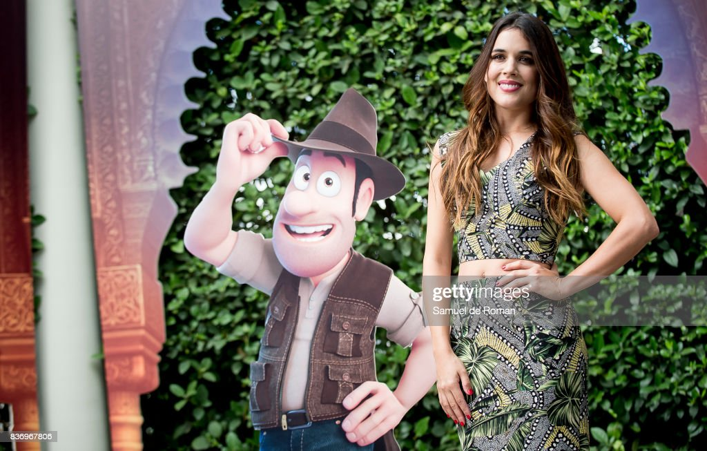 Adriana Ugarte during 'Tadeo Jones 2. El Secreto Del Rey Midas' Madrid Photocall on August 22, 2017 in Madrid, Spain.