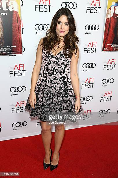 Adriana Ugarte of 'Julieta' arrives at TCL Chinese 6 Theatres on November 16 2016 in Hollywood California