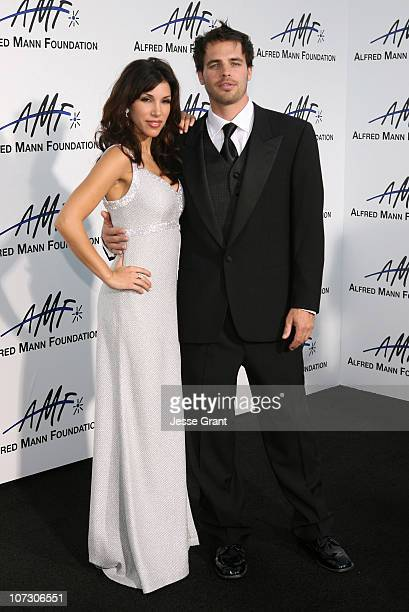 Adrianna Costa and Al Santos during 3rd Annual Alfred Mann Foundation Innovation and Inspiration Gala Honoring Richard and Nancy Riordan at Mann...