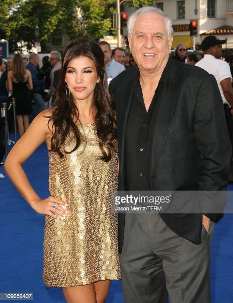 Adrianna Costa and Garry Marshall during 'Transformers' Los Angeles Premiere Arrivals at Mann Village Theater in Westwood California United States