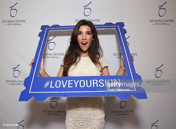 Adrianna Costa attends the VIP Grand Opening ZO Skin Centre by Zein Obagi MD at Fashion Island Shopping Center on May 28 2015 in Newport Beach...