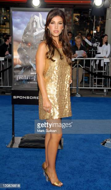 Adrianna Costa during 2007 Los Angeles Film Festival 'Transformers' Premiere Arrivals at Mann Bruin in Westwood CA United States
