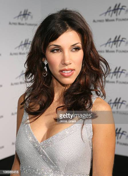 Adrianna Costa during 3rd Annual Alfred Mann Foundation Innovation and Inspiration Gala Honoring Richard and Nancy Riordan at Mann Estate in Beverly...