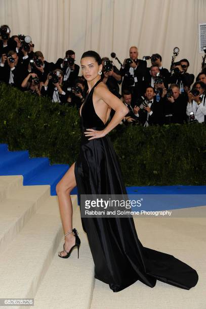 Adrianna Lima attends 'Rei Kawakubo/Comme des Garcons Art Of The InBetween' Costume Institute Gala Arrivals at Metropolitan Museum of Art on May 1...