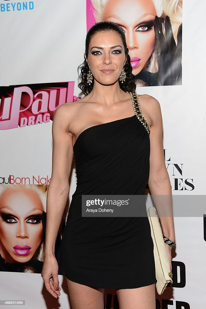Adrianne Curry attends Logo TV's 'RuPaul's Drag Race' season 6 reunion taping at The Theatre at Ace Hotel Downtown LA on May 6, 2014 in Los Angeles, California.