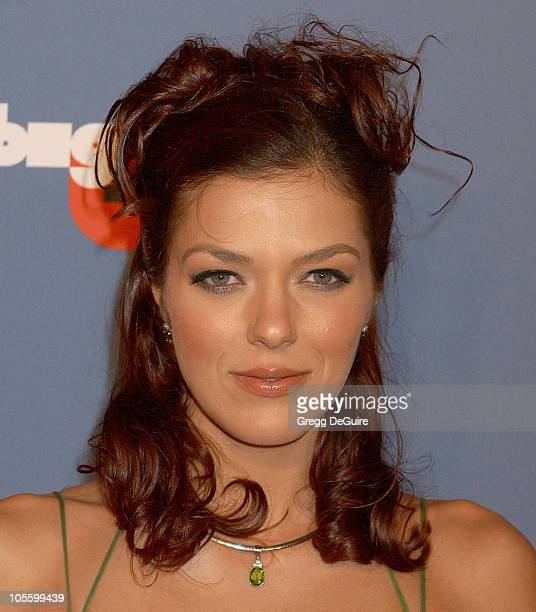 Adrianne Curry during VH1 Big in '05 Arrivals at Sony Studios in Culver City California United States