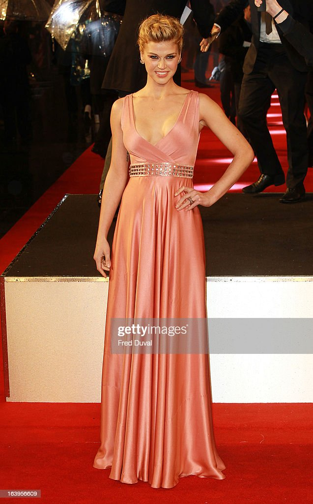 Adrianne Palicki attends the UK film premiere of 'G.I. Joe: Retaliation' at The Empire Cinema on March 18, 2013 in London, England.
