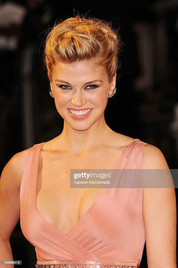 Adrianne Palicki attends the UK premiere of 'G.I. Joe: Retaliation' at Empire Leicester Square on March 18, 2013 in London, England.