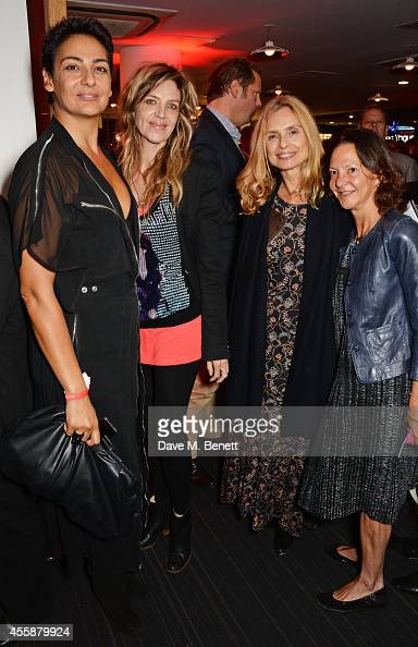 Adrianne Shaaker Martha Fiennes Maryam d'Abo and Gabrielle Tana attend an after party following the screening and QA of 'Salome and Wilde Salome' at...