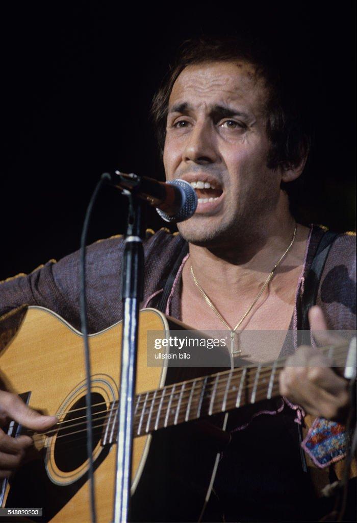 Adriano Celentano Saenger Schauspieler TVModerator um 1972