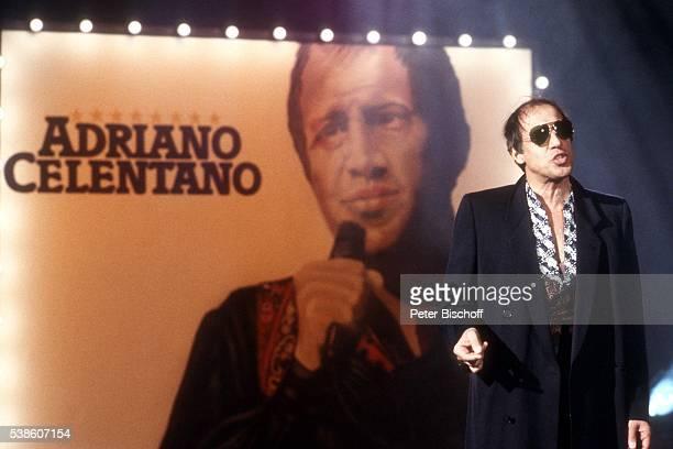 Adriano Celentano ZDFShow 'Na sowas Extra' am in Deutschland