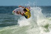 Adriano de Souza of Brazil surfs during his Round 3 heat at the Oi Rio Pro on May 15 2015 in Rio de Janeiro Brazil
