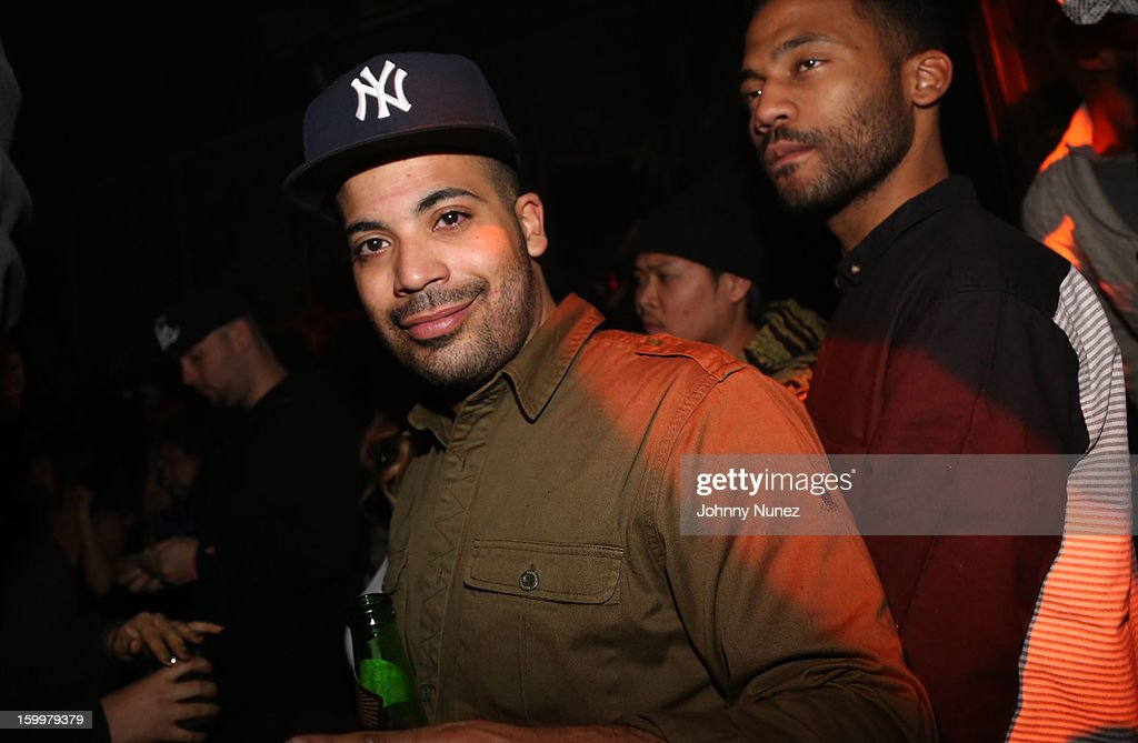 Adriel Ortiz attends Nicky Diamond Birthday Celebration at The Griffin on January 23, 2013 in New York City.