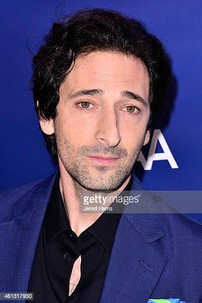 Adrien Brody arrives at the 4th Annual Sean Penn Friends 'Help Haiti Home' Gala Benefit at the Montage Hotel on January 10 2015 in Los Angeles...