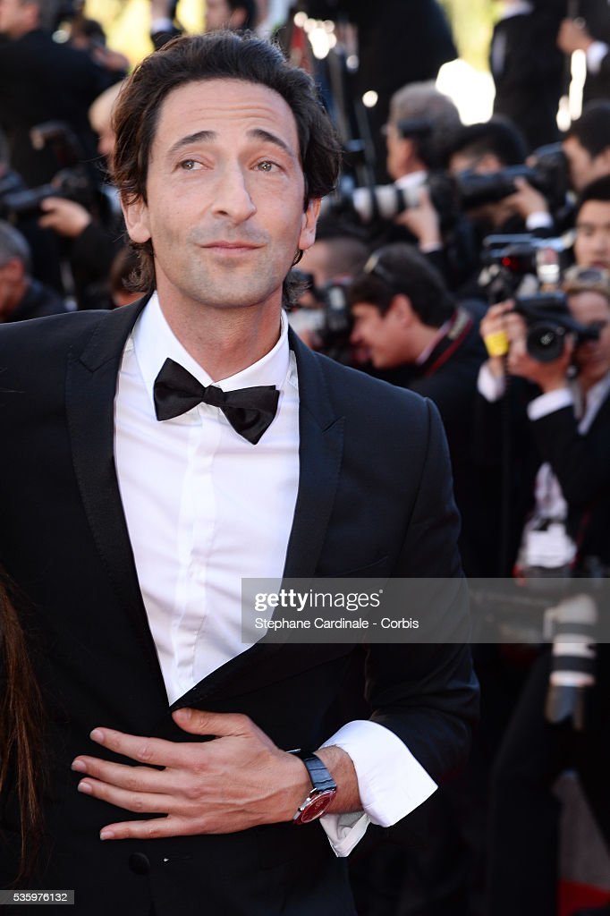 Adrien Brody at the Closing ceremony and 'A Fistful of Dollars' screening during 67th Cannes Film Festival