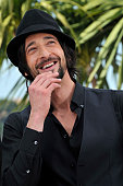 Adrien Brody at the photo call for 'Midnight in Paris' during the 64th Cannes International Film Festival