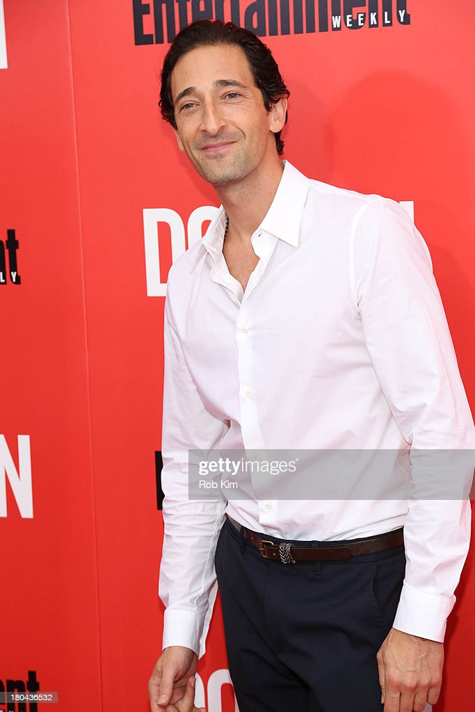 <a gi-track='captionPersonalityLinkClicked' href=/galleries/search?phrase=Adrien+Brody&family=editorial&specificpeople=202175 ng-click='$event.stopPropagation()'>Adrien Brody</a> attends 'Don Jon' New York Premiere at SVA Theater on September 12, 2013 in New York City.