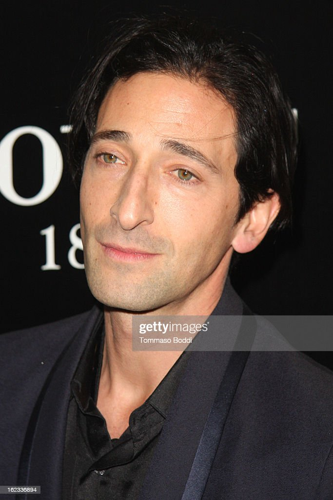 <a gi-track='captionPersonalityLinkClicked' href=/galleries/search?phrase=Adrien+Brody&family=editorial&specificpeople=202175 ng-click='$event.stopPropagation()'>Adrien Brody</a> attends the 6th annual Hollywood Domino Gala & Tournament held at teh Sunset Tower on February 21, 2013 in West Hollywood, California.