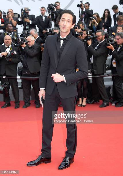 Adrien Brody attends the 70th Anniversary screening during the 70th annual Cannes Film Festival at Palais des Festivals on May 23 2017 in Cannes...
