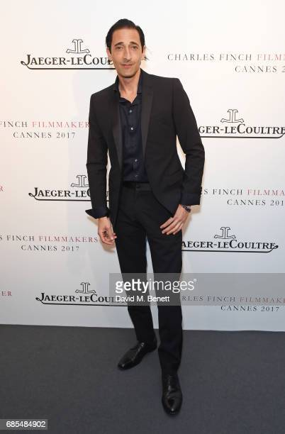Adrien Brody attends The 9th Annual Filmmakers Dinner hosted by Charles Finch and JaegerLeCoultre at Hotel du CapEdenRoc on May 19 2017 in Cap...