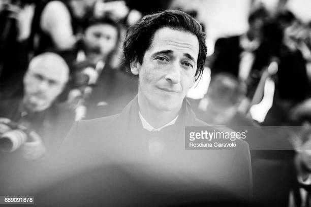Adrien Brody attends the 'Based On A True Story' screening during the 70th annual Cannes Film Festival at on May 27 2017 in Cannes France