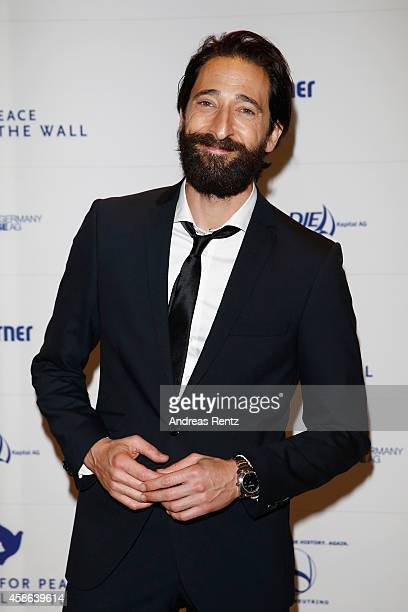 Adrien Brody attends the Cinema for Peace HEROES Gala at Hotel Adlon on November 8 2014 in Berlin Germany