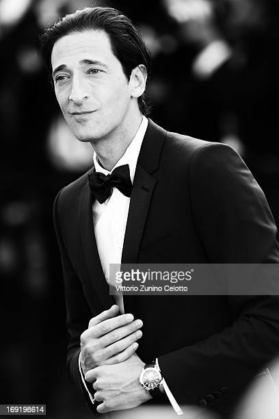 Adrien Brody attends the 'Cleopatra' premiere during the 66th Annual Cannes Film Festival on May 21 2013 in Cannes France