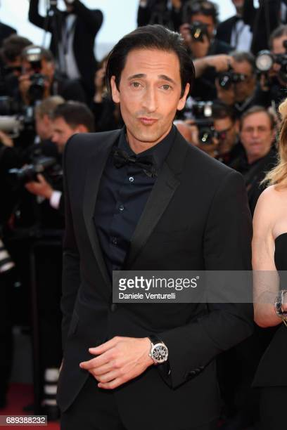 Adrien Brody attends the Closing Ceremony during the 70th annual Cannes Film Festival at Palais des Festivals on May 28 2017 in Cannes France