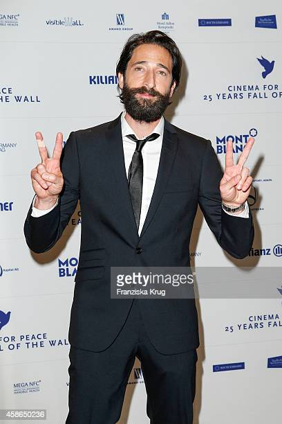 Adrien Brody attends the HEROES Gala Berlin on November 08 2014 in Berlin Germany