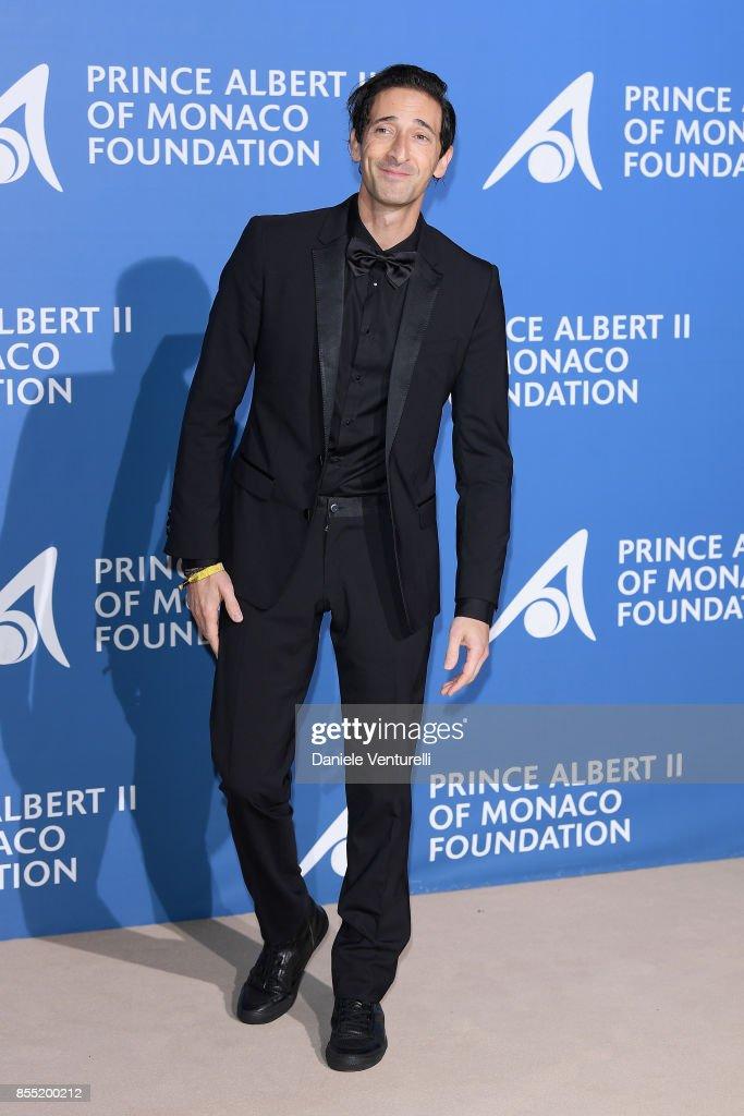 Adrien Brody attends the inaugural 'Monte-Carlo Gala for the Global Ocean' honoring Leonardo DiCaprio at the Monaco Garnier Opera on September 28, 2017 in Monaco, Monaco.