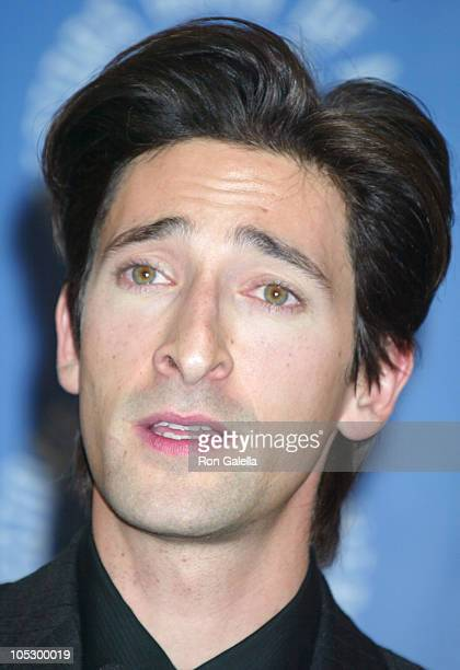 Adrien Brody during 55th Annual Directors Guild Of America Awards at Century Plaza Hotel in Century City California United States