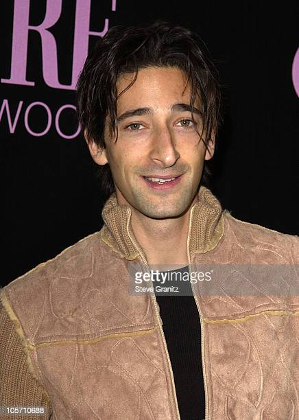 Adrien Brody during 9th Annual Premiere Magazine 'Women In Hollywood' Luncheon at The Four Seasons Hotel in Beverly Hills California United States