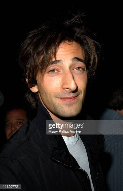 Adrien Brody during Angeleno Magazine's 4th Anniversary Party at Viceroy Hotel in Santa Monica California United States