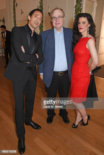 Adrien Brody Paul Allen and guest attend The 9th Annual Filmmakers Dinner hosted by Charles Finch and JaegerLeCoultre at Hotel du CapEdenRoc on May...