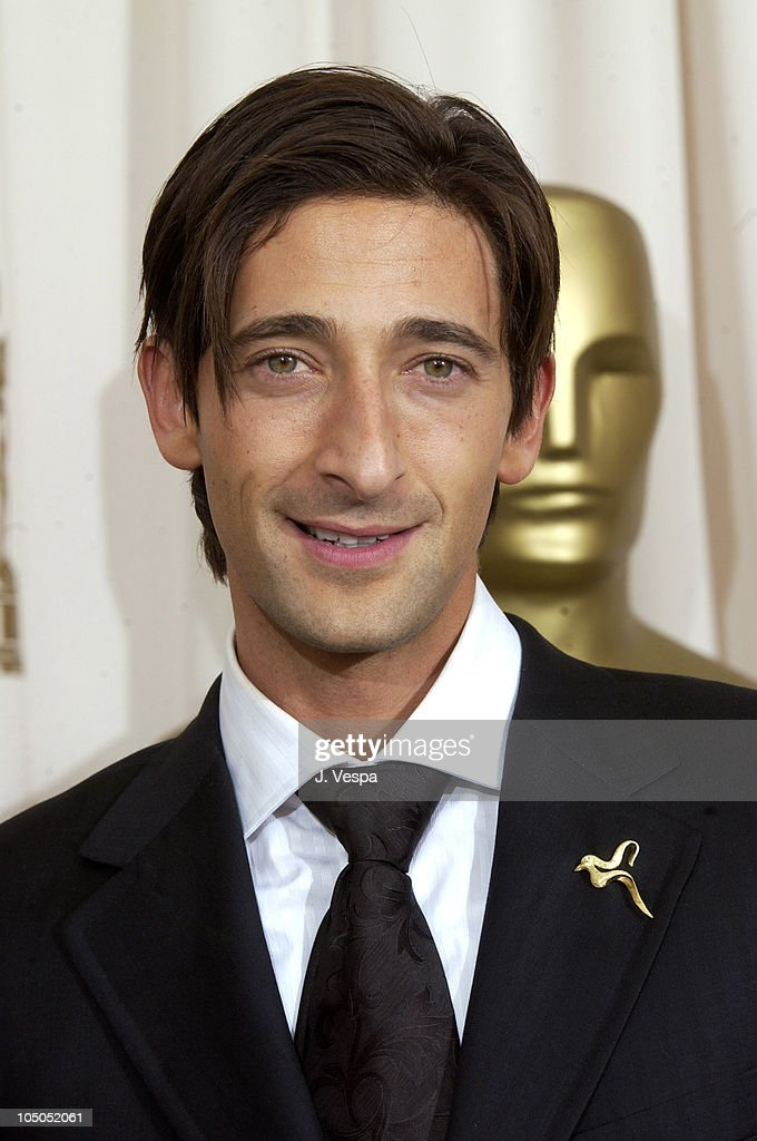 Adrien Brody , winner of Best Actor for 'The Pianist' Show more Adrien Brody