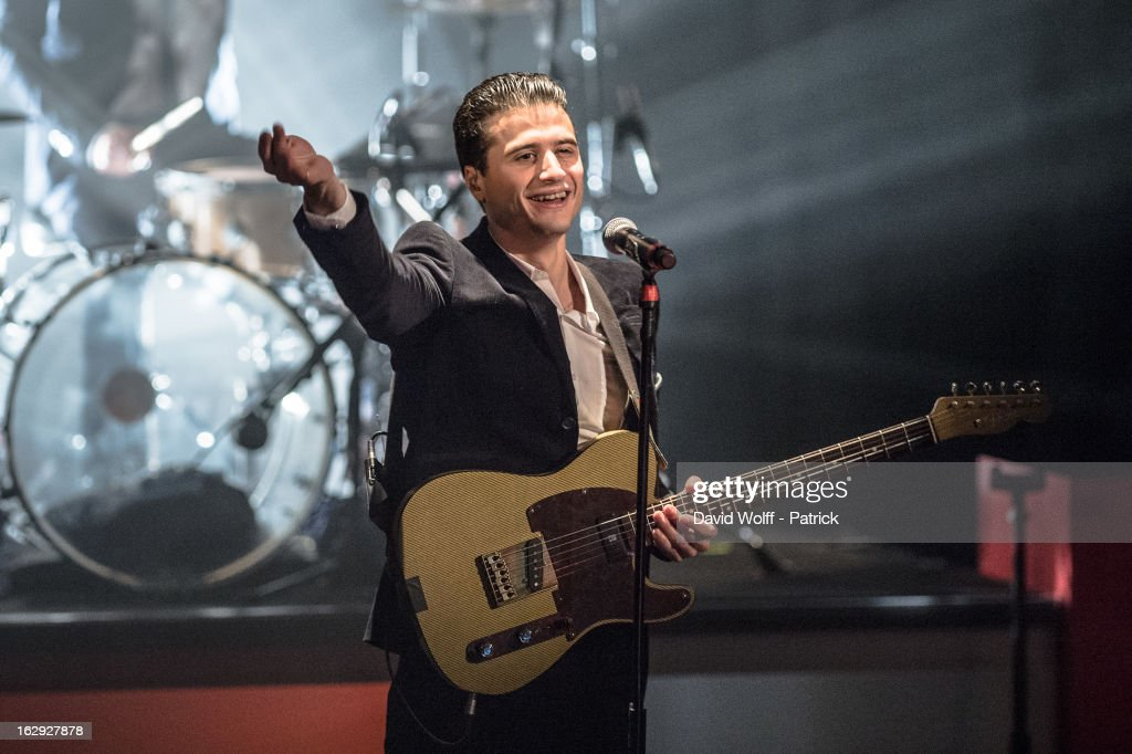 <a gi-track='captionPersonalityLinkClicked' href=/galleries/search?phrase=Adrien+Gallo&family=editorial&specificpeople=5739309 ng-click='$event.stopPropagation()'>Adrien Gallo</a> from BB Brunes performs at Le Trianon on March 1, 2013 in Paris, France.
