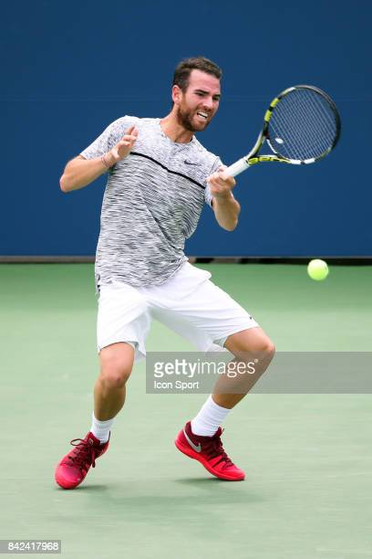 Adrien Mannarino of France during day 6 of the Us Open 2017 at USTA Billie Jean King National Tennis Center on September 2 2017 in New York City