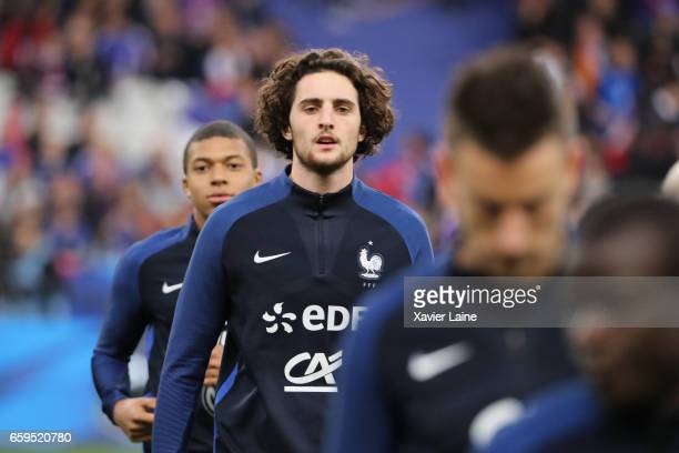 Adrien Rabiot of France during the Friendly game between France and Spain at Stade de France on march 28 2017 in Paris France
