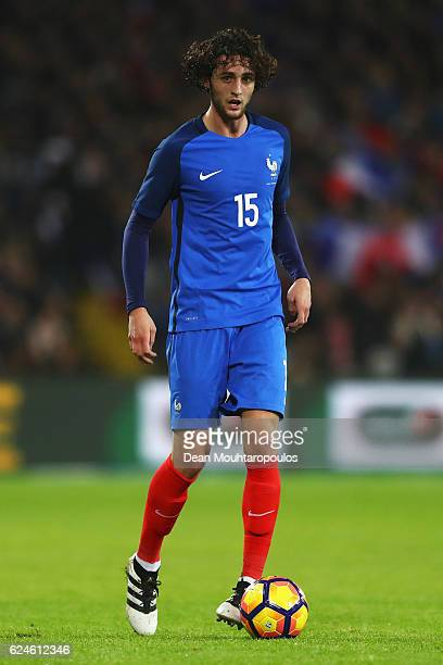 Adrien Rabiot of France in action during the International Friendly match between France and Ivory Coast held at Stade Felix Bollaert Deleis on...