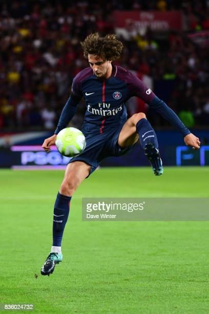 Adrien Rabiot of PSG during the Ligue 1 match between Paris Saint Germain and Toulouse at Parc des Princes on August 20 2017 in Paris