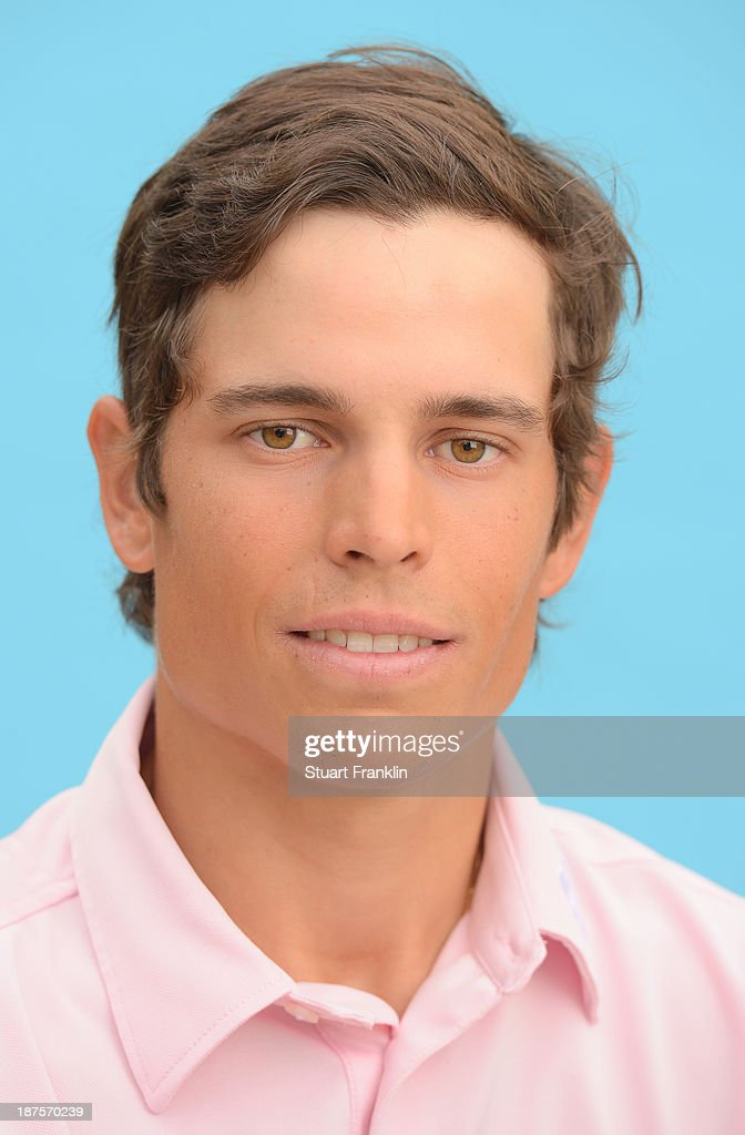 Adrien Saddier of France poses for a photograph during the first round of European Tour qualifying school final stage at PGA Catalunya Resort on November 10, 2013 in Girona, Spain.