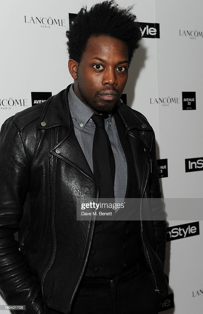 Adrien Sauvage arrives at the InStyle Best Of British Talent party in association with Lancome and Avenue 32 at Shoreditch House on January 30, 2013 in London, England.