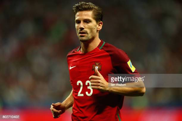 Adrien Silva of Portugal looks on during the FIFA Confederations Cup Russia 2017 SemiFinal between Portugal and Chile at Kazan Arena on June 28 2017...