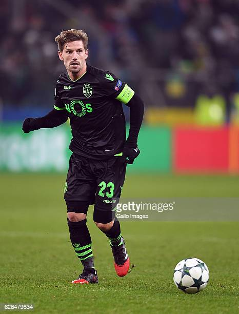 Adrien Silva Sporting Clube de Portugal during the UEFA Champions League group F match between Legia Warszawa and Sporting Club de Portugal on...