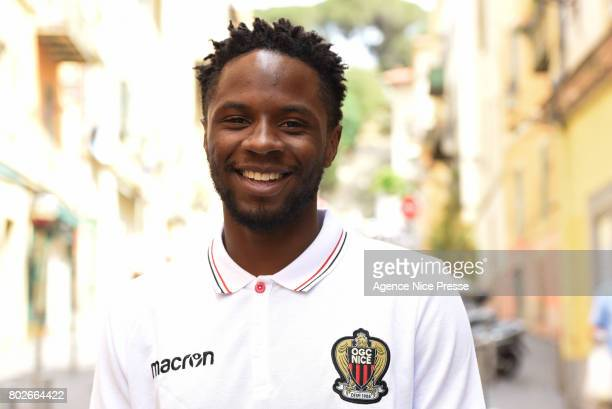 Adrien Tameze of Nice during fan's meeting with new players of OGC Nice on June 28 2017 in Nice France